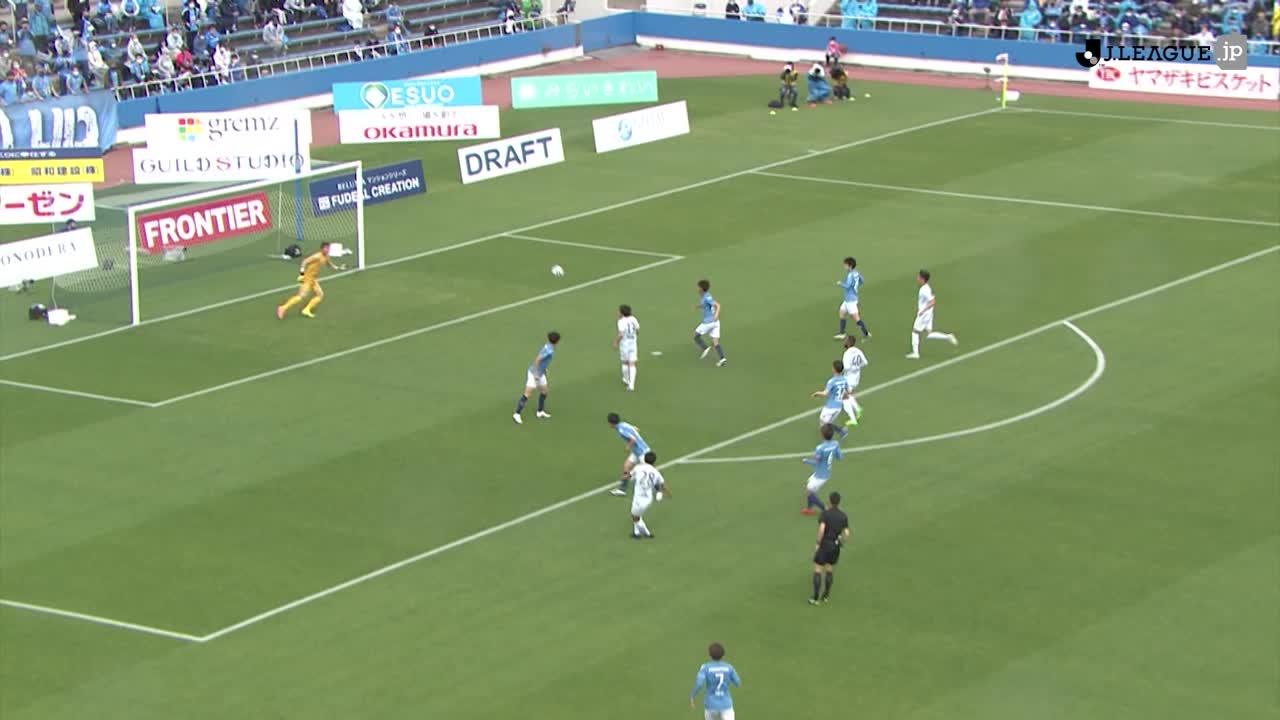 2021YBCルヴァンカップ【第5節】横浜FCvs湘南 ダイジェスト
