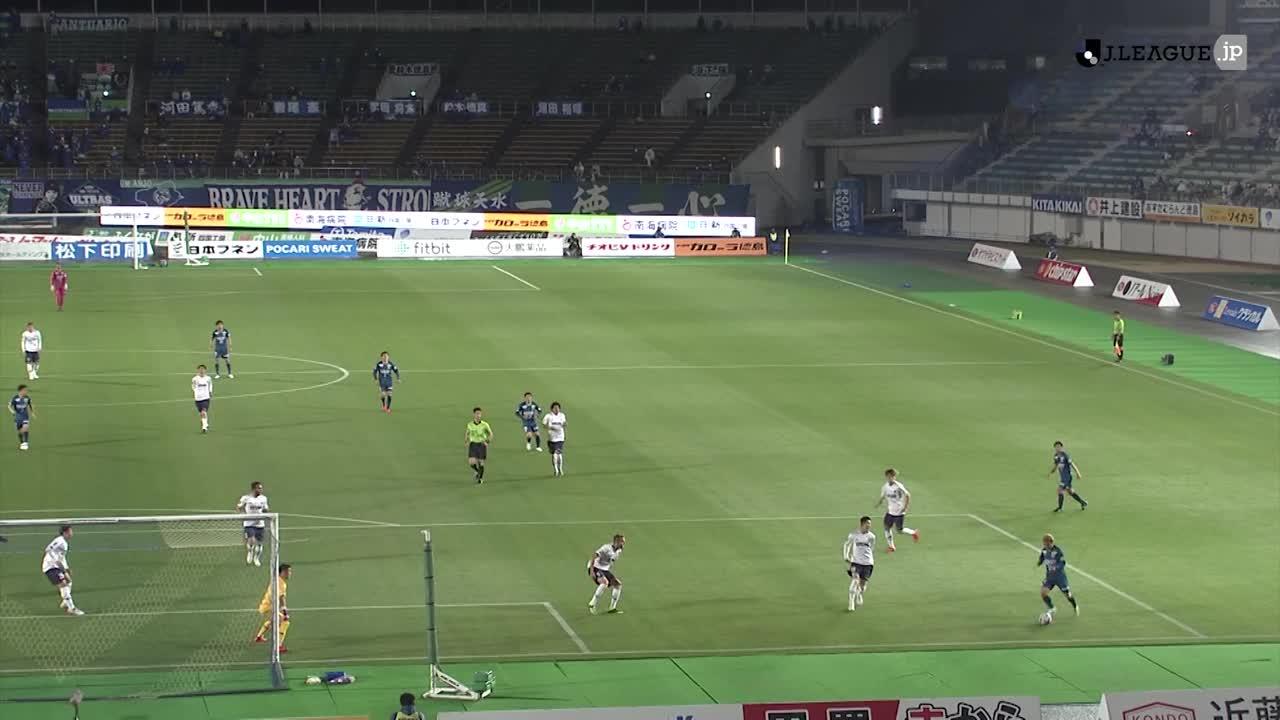 2021YBCルヴァンカップ【第4節】徳島vsFC東京 ダイジェスト