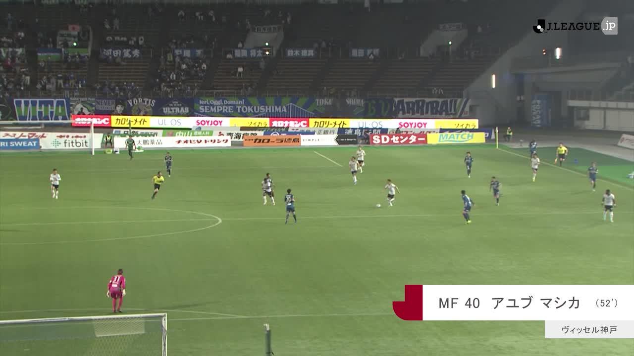 2021YBCルヴァンカップ【第6節】徳島vs神戸 ダイジェスト