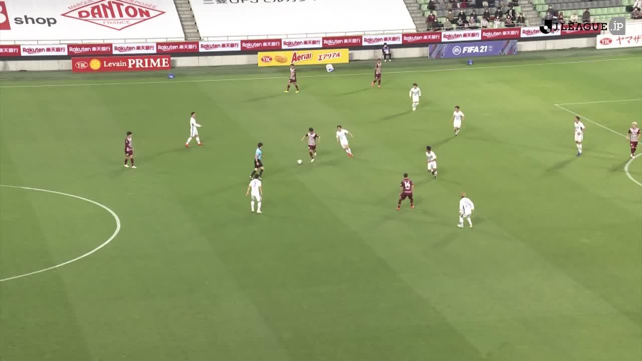 2021YBCルヴァンカップ【第3節】神戸vs徳島 ダイジェスト