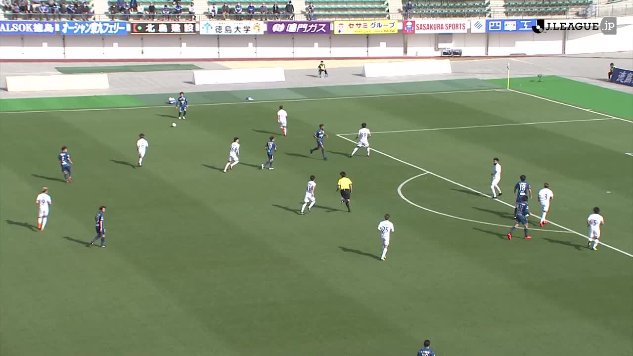 2021YBCルヴァンカップ【第2節】徳島vs大分 ダイジェスト