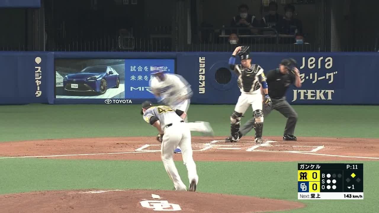 6/24 中日 vs 阪神 ハイライト
