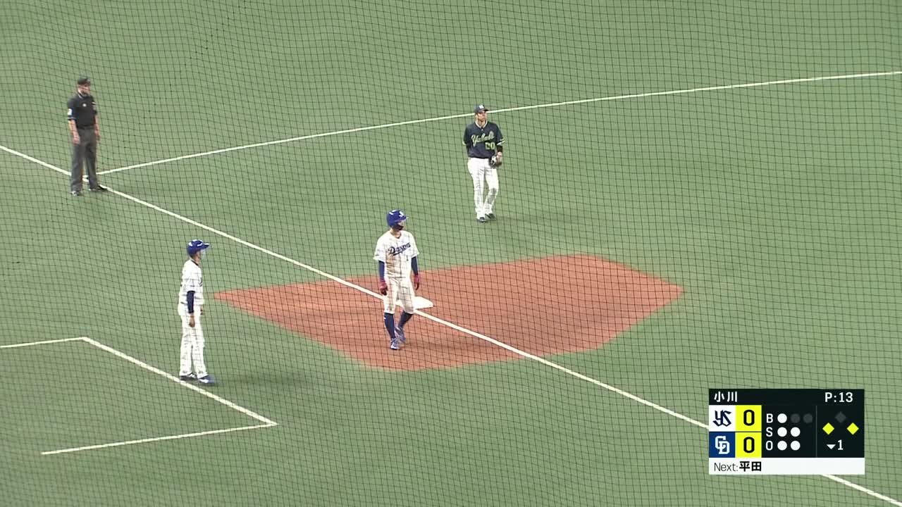 4/10 中日 vs 東京ヤクルト ハイライト