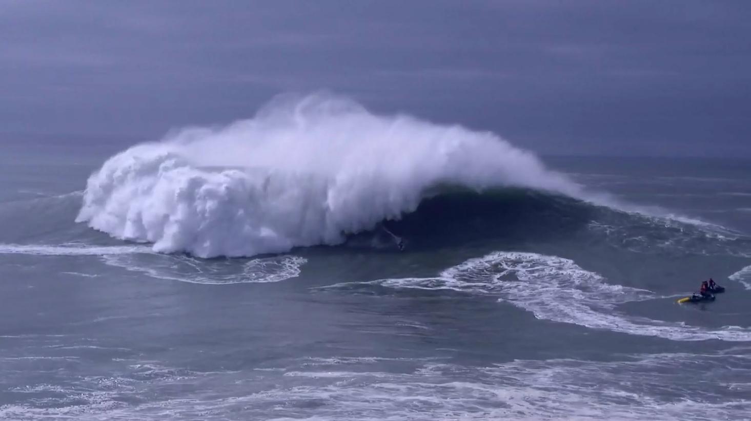 【サーフィン】巨大波のナザレで『Nazaré Challenge』開催