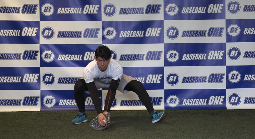 【野球練習メニュー】捕球の位置を覚えるための練習方法