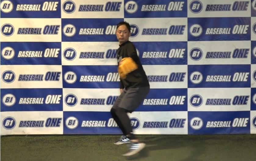 【野球練習メニュー】クイック時に股関節のタメを作る練習方法