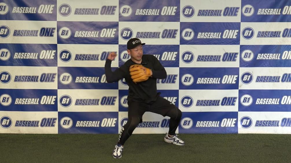 【野球練習メニュー】ゲッツー時の捕球から送球を覚える為の練習方法