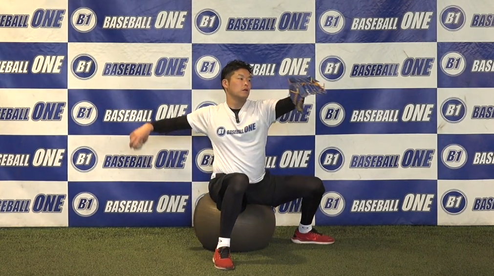 【野球練習メニュー】ピッチャーの体幹を使った練習方法(Sufu)