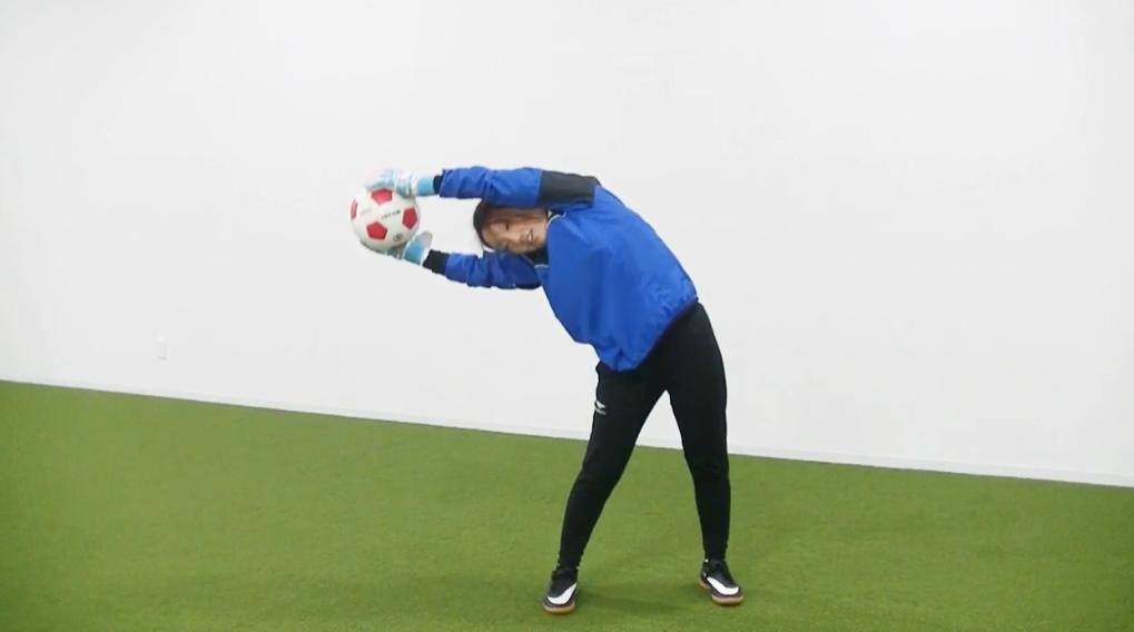 【サッカー練習メニュー】GK W-UP ボールジャグリング&ストレッチ①(Sufu)
