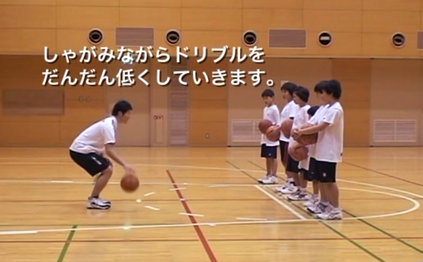 【バスケ練習メニュー】高低ドリブル(Sufu)