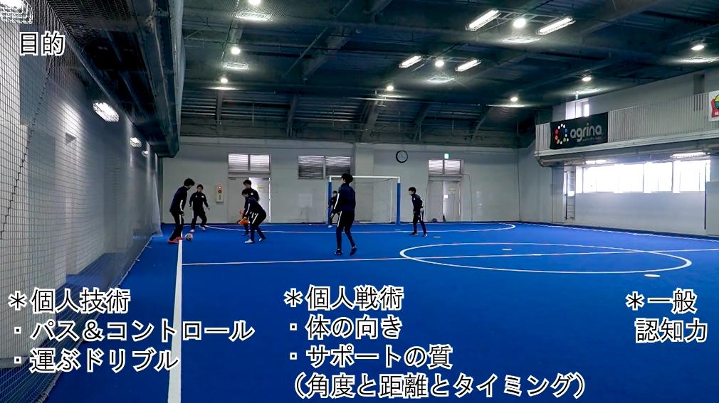 【サッカー練習メニュー】様々なロンド(認知力向上)(Sufu)