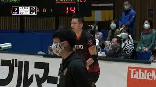 【バレー/Vリーグ】2021/2/21 ハイライト JTサンダーズ広島 vs ジェイテクトSTINGS