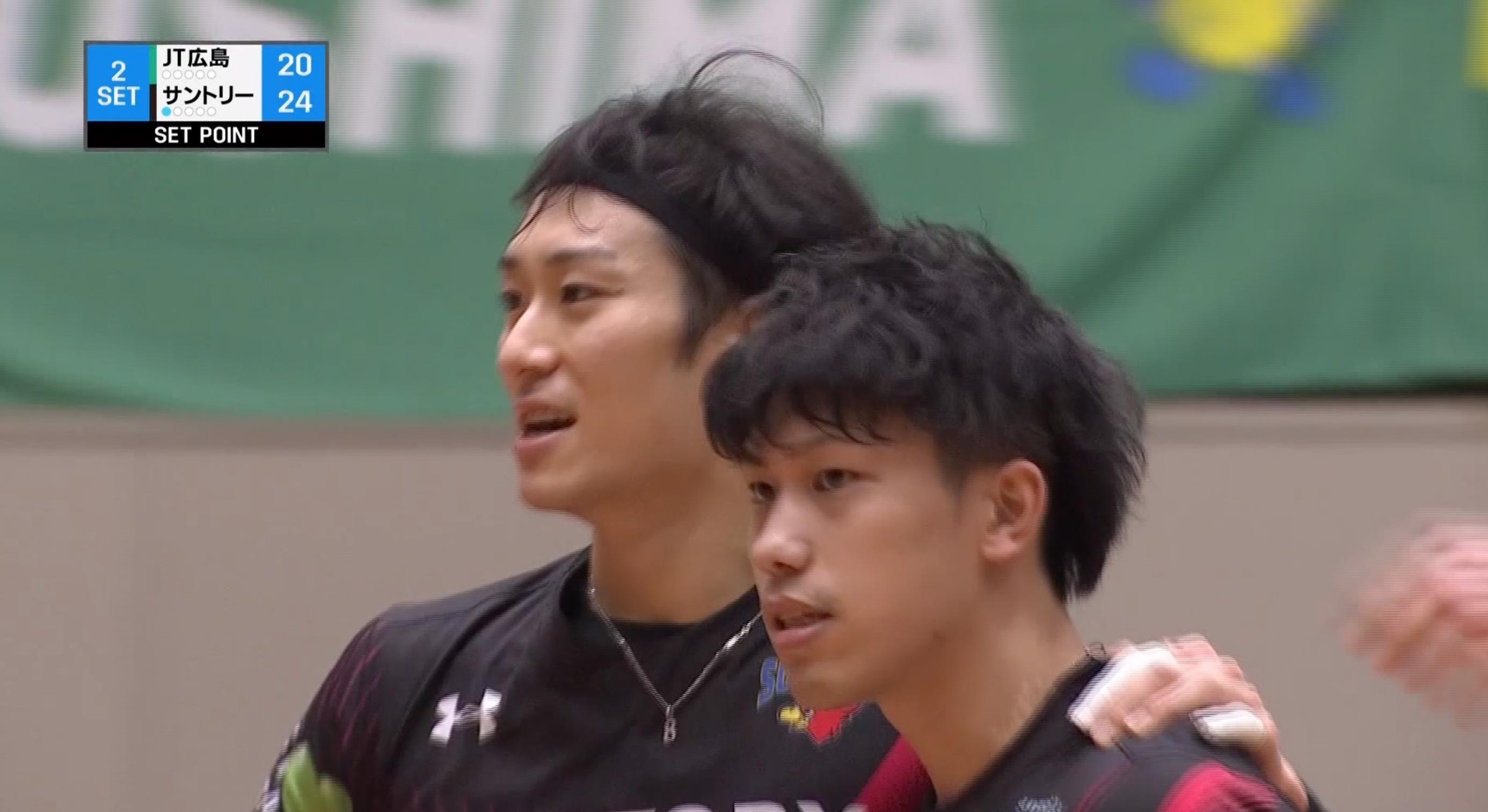 【バレー/Vリーグ】2021/2/28 ハイライト JTサンダーズ広島 vs サントリーサンバーズ