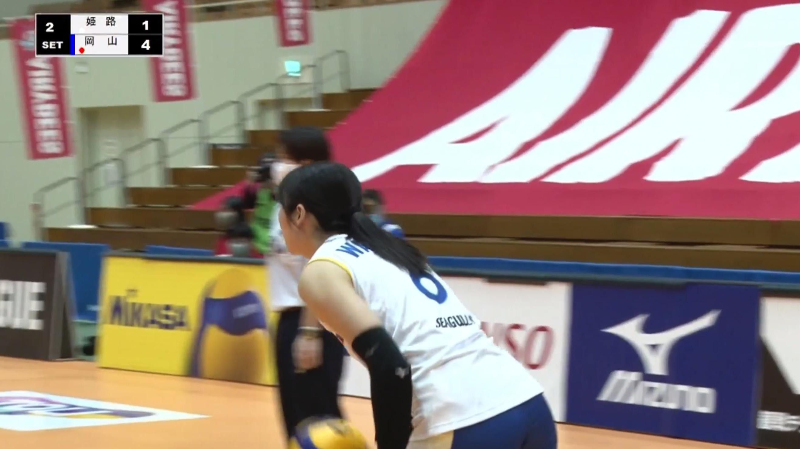 【バレー/Vリーグ】2021/2/28 ハイライト 岡山シーガルズ vs ヴィクトリーナ姫路