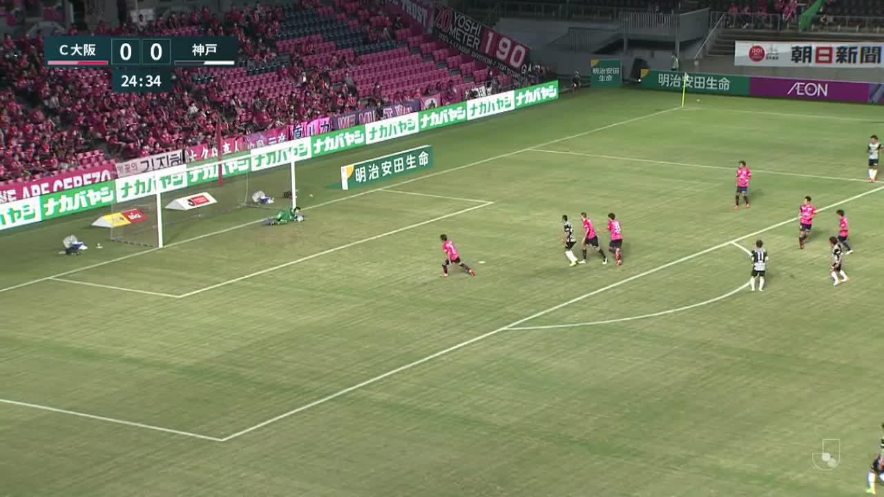 明治安田生命J1リーグ【第20節】C大阪vs神戸 ダイジェスト