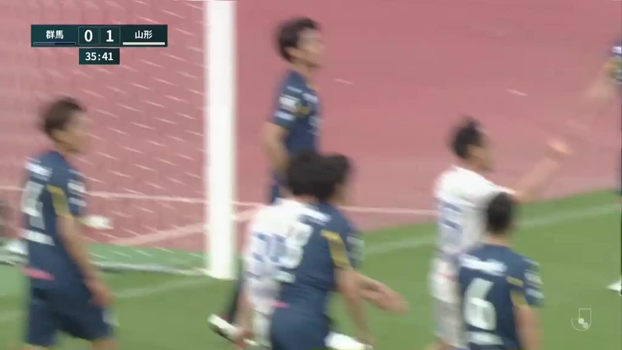明治安田生命J2リーグ【第11節】群馬vs山形 ダイジェスト