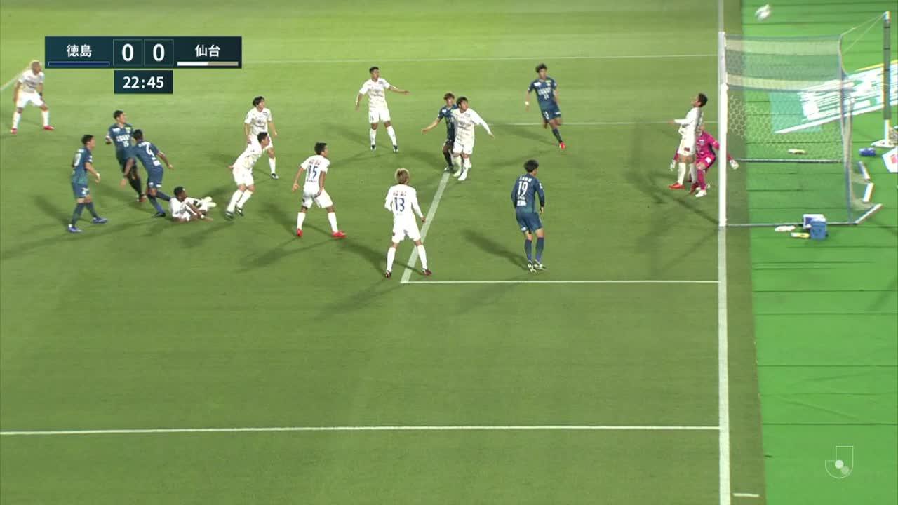 明治安田生命J1リーグ【第8節】徳島vs仙台 ダイジェスト