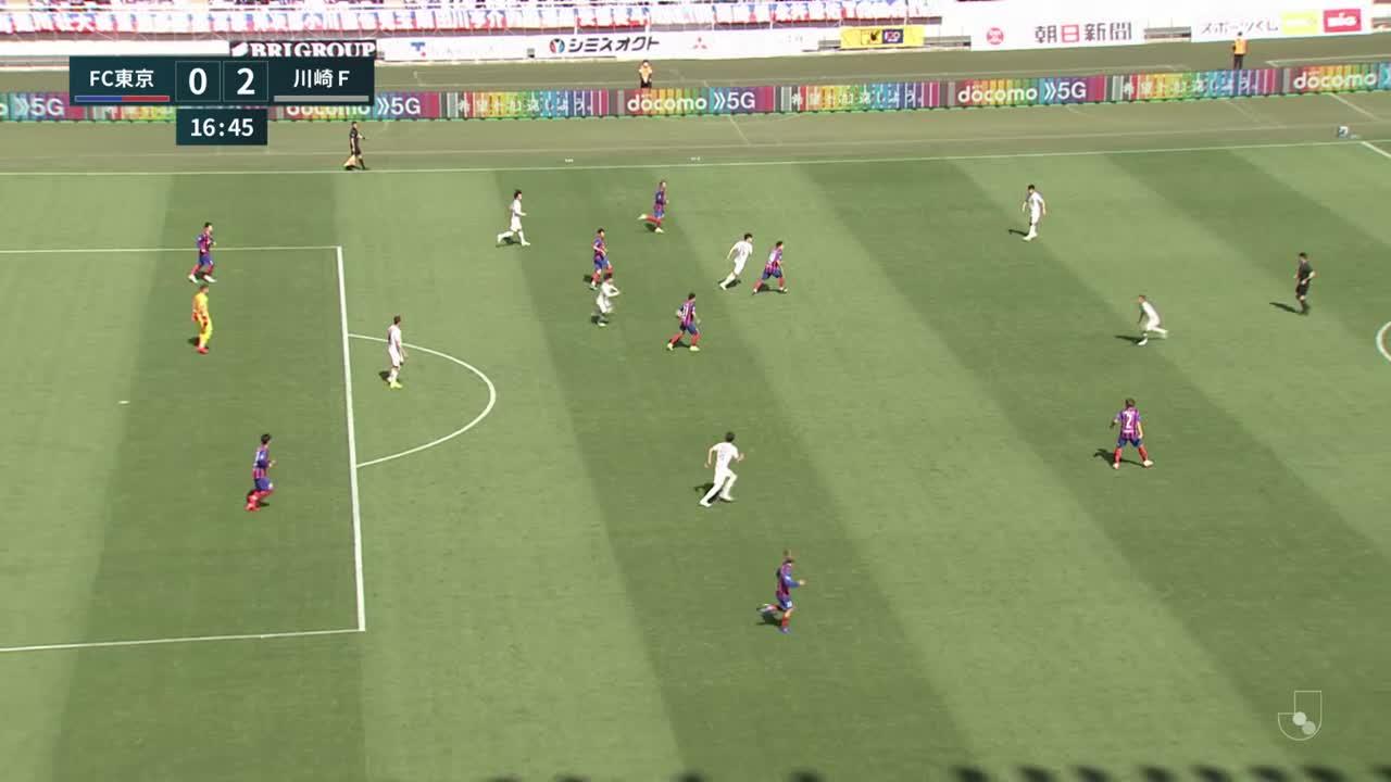 明治安田生命J1リーグ【第9節】FC東京vs川崎F ダイジェスト