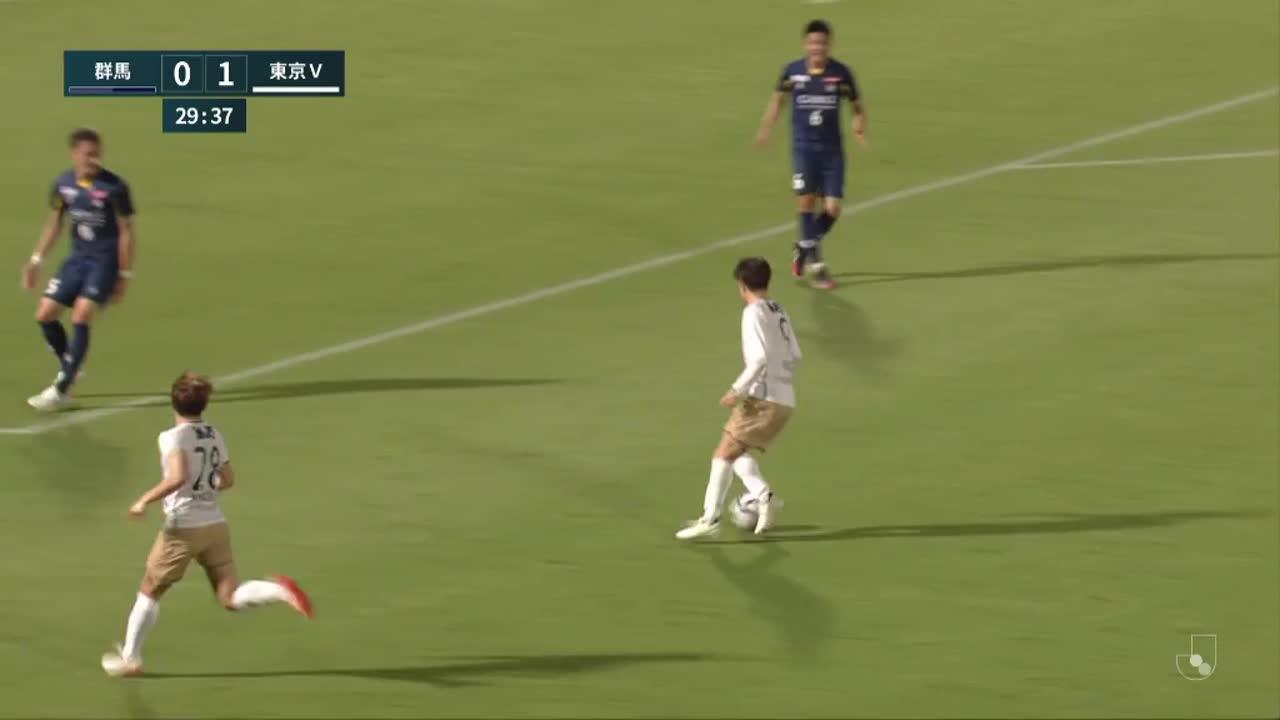 明治安田生命J2リーグ【第22節】群馬vs東京V ダイジェスト