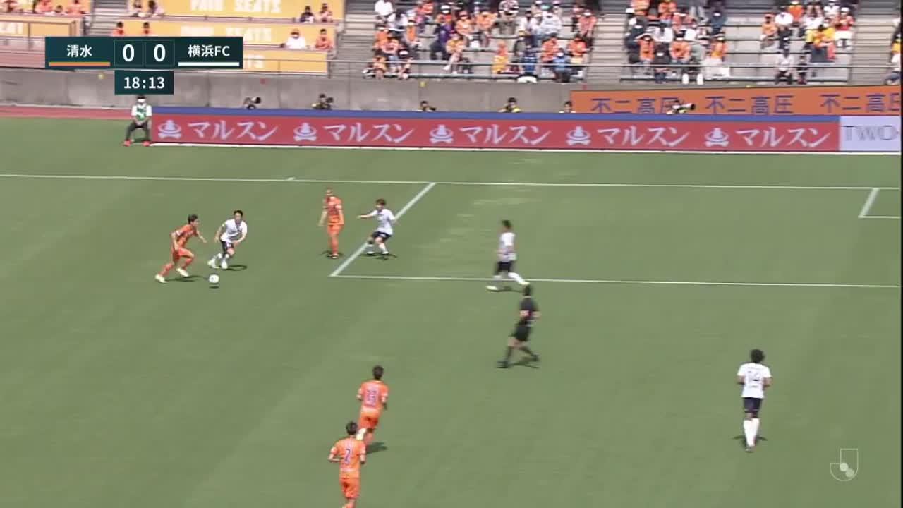 明治安田生命J1リーグ【第13節】清水vs横浜FC ダイジェスト