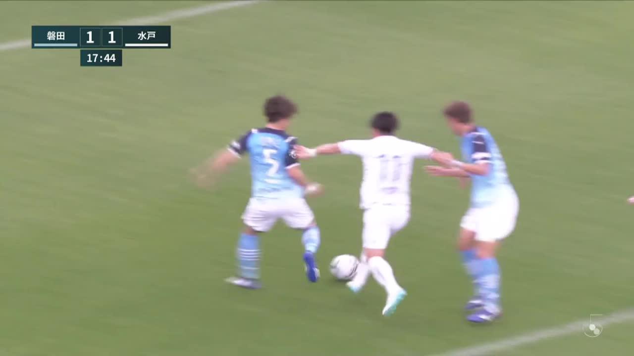 明治安田生命J2リーグ【第3節】磐田vs水戸 ダイジェスト