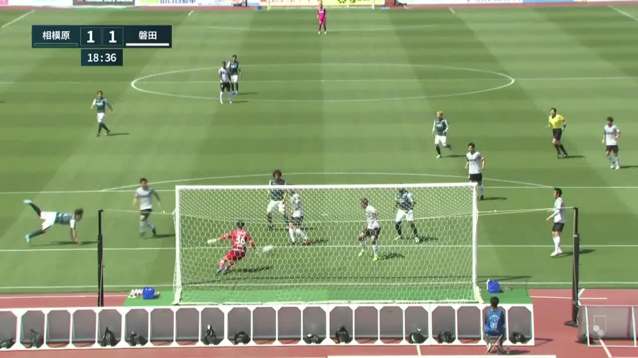 明治安田生命J2リーグ【第3節】相模原vs磐田 ダイジェスト