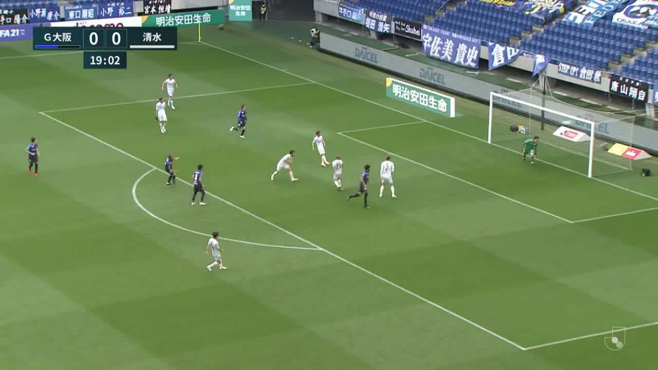 明治安田生命J1リーグ【第10節】G大阪vs清水 ダイジェスト