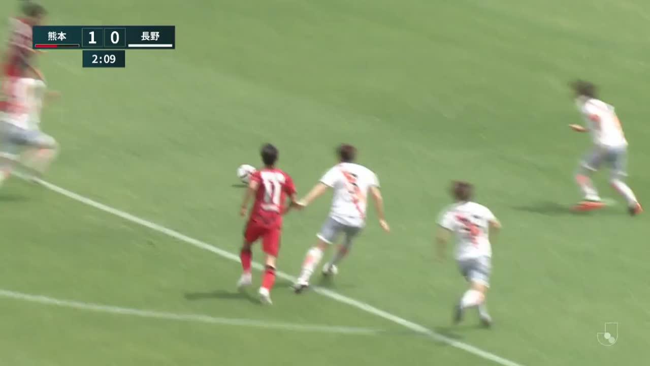 明治安田生命J3リーグ【第8節】熊本vs長野 ダイジェスト