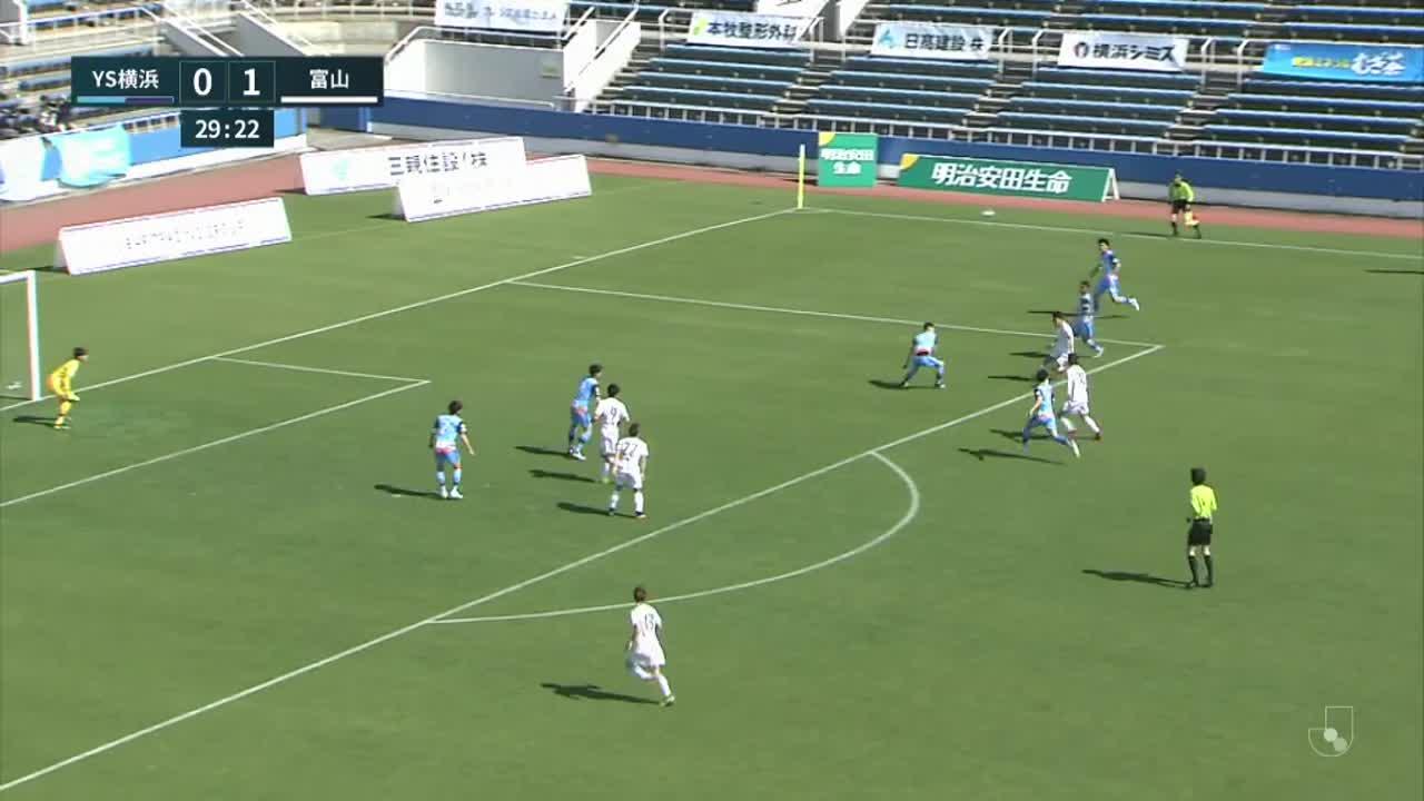 明治安田生命J3リーグ【第1節】YS横浜vs富山 ダイジェスト