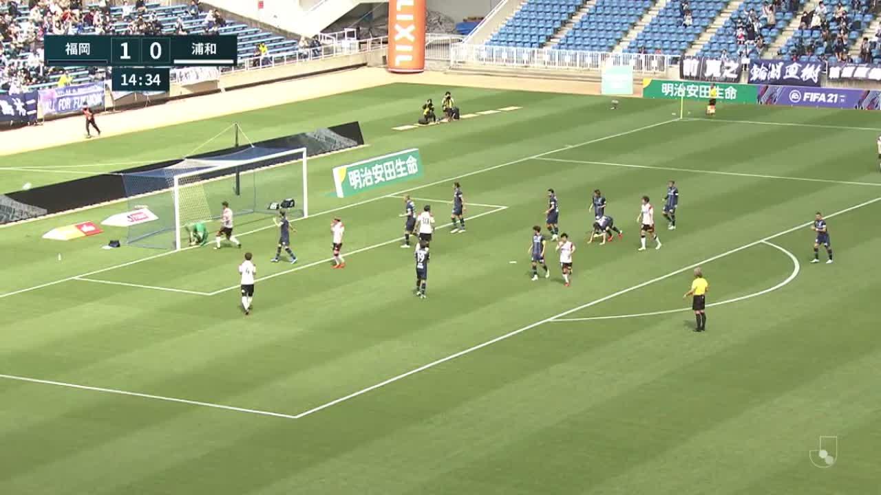 明治安田生命J1リーグ【第12節】福岡vs浦和 ダイジェスト