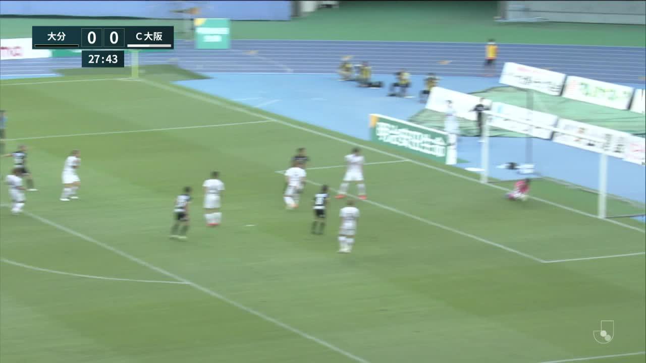 明治安田生命J1リーグ【第31節】大分vsC大阪 ダイジェスト