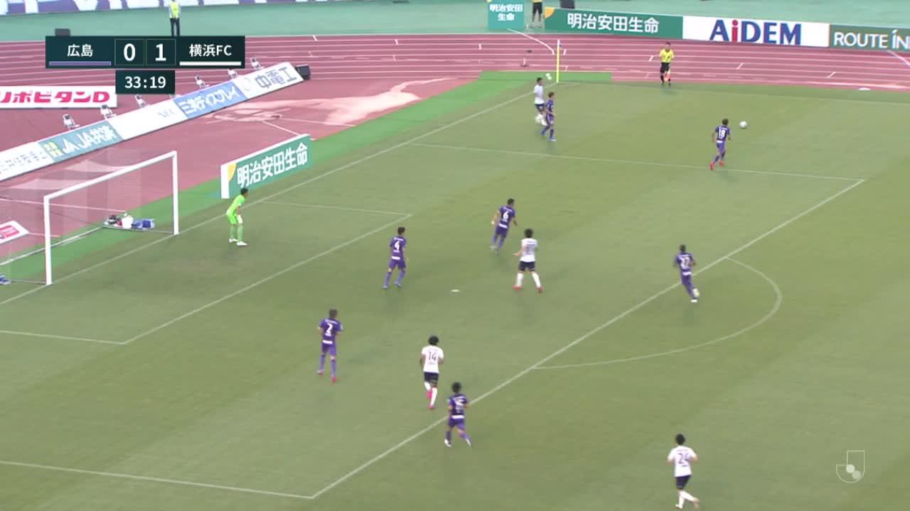 明治安田生命J1リーグ【第22節】広島vs横浜FC ダイジェスト
