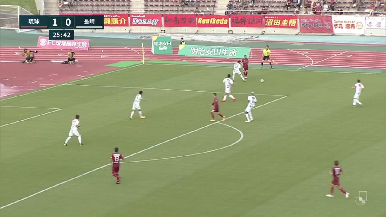 明治安田生命J2リーグ【第4節】琉球vs長崎 ダイジェスト