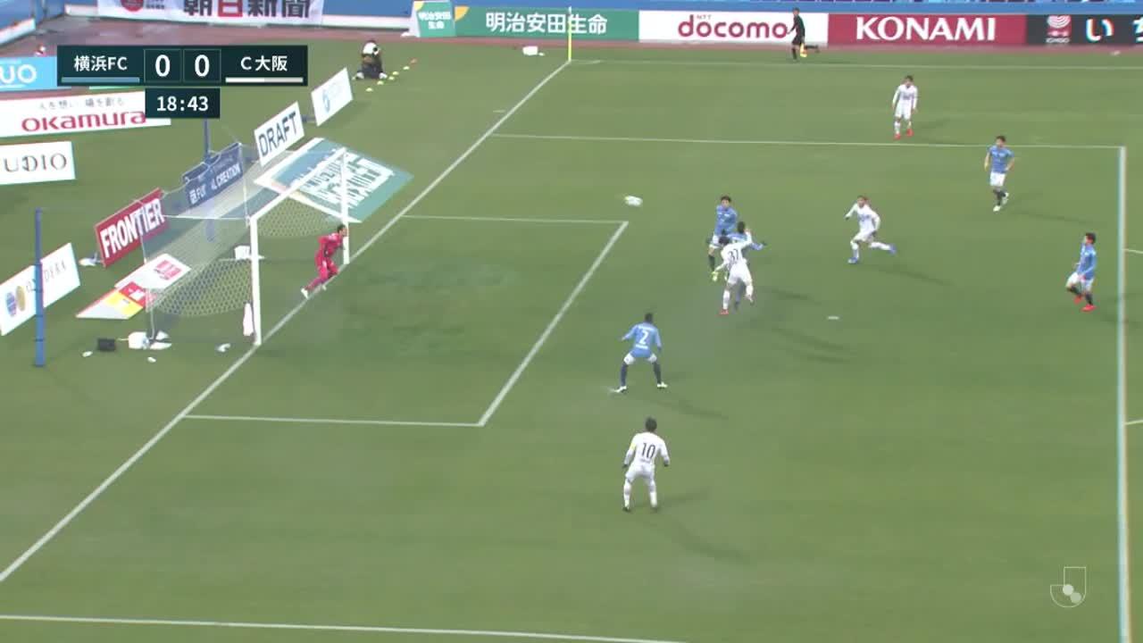 明治安田生命J1リーグ【第4節】横浜FCvsC大阪 ダイジェスト
