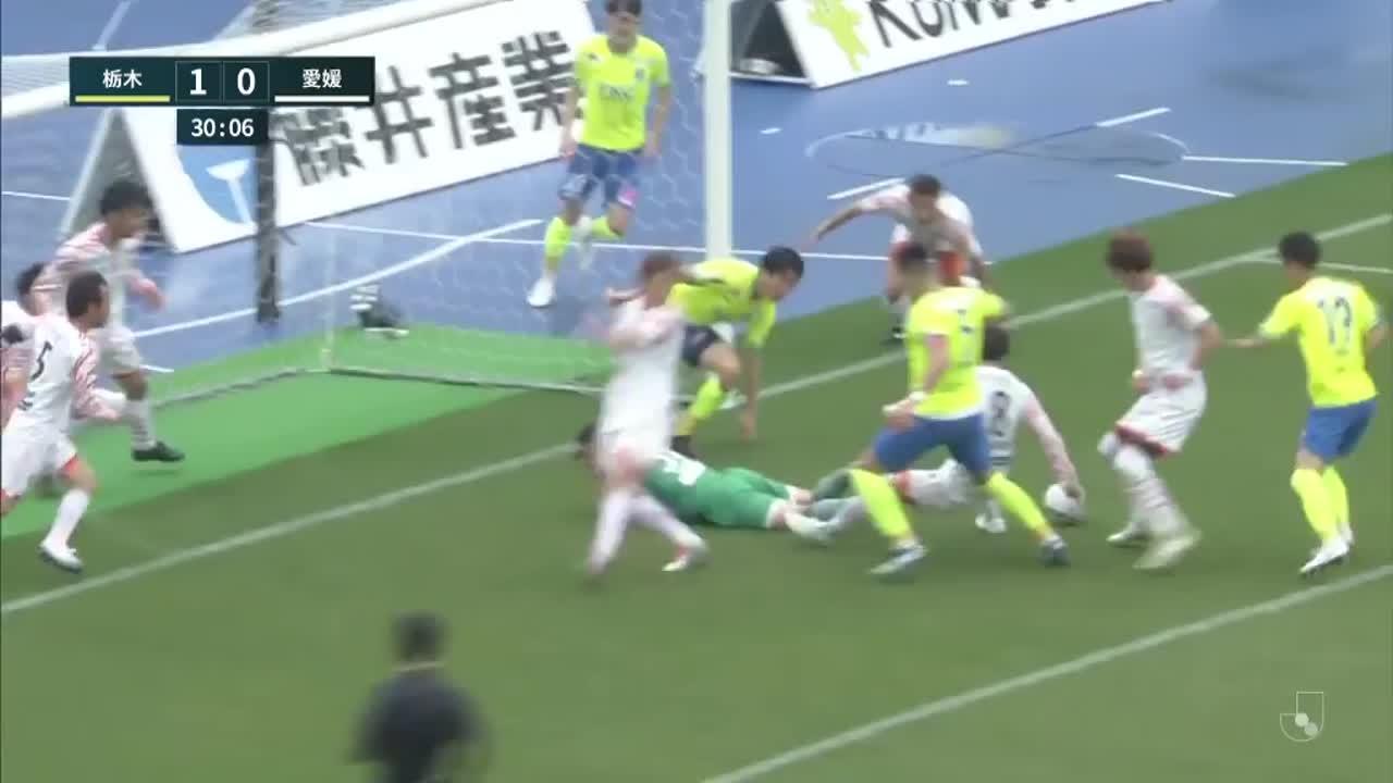 明治安田生命J2リーグ【第5節】栃木vs愛媛 ダイジェスト