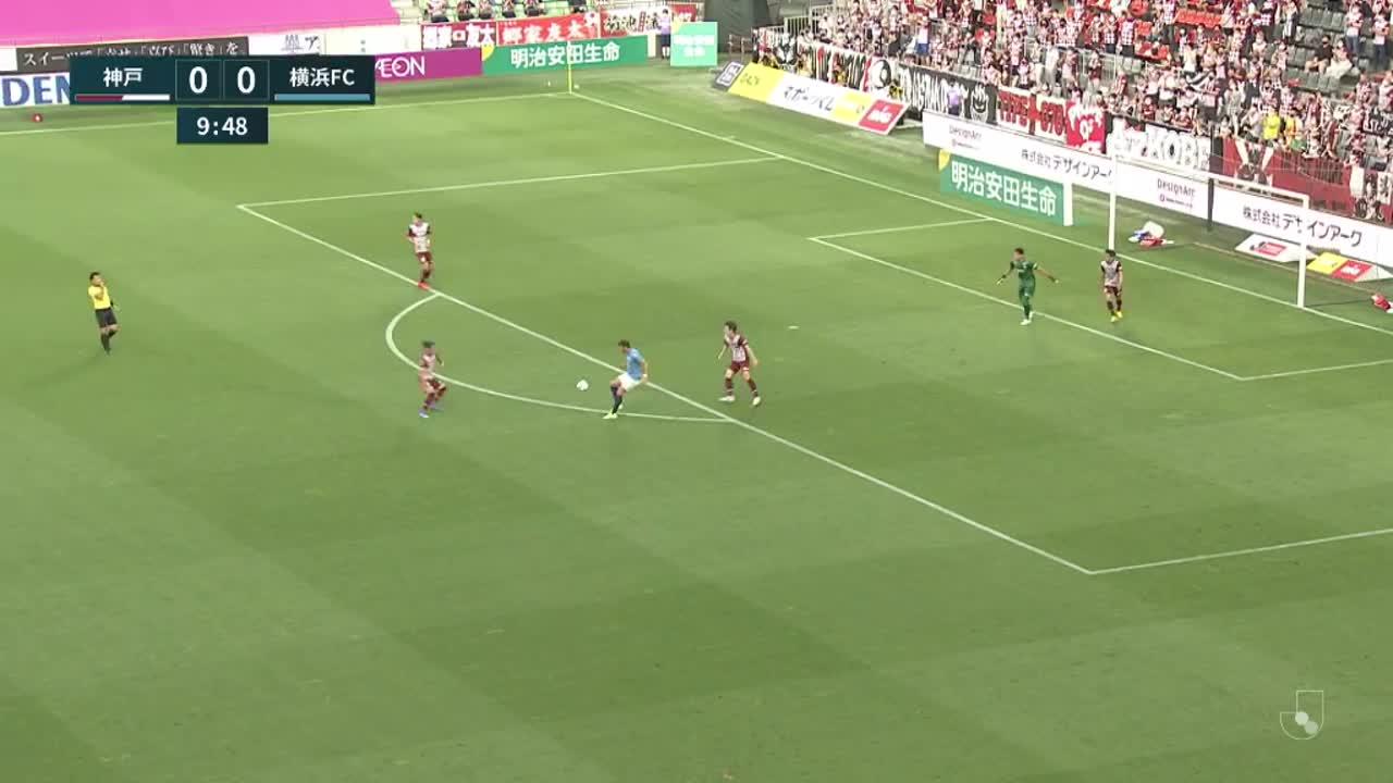 明治安田生命J1リーグ【第19節】神戸vs横浜FC ダイジェスト