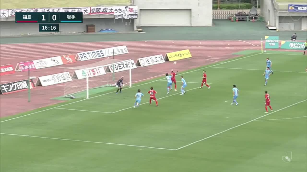 明治安田生命J3リーグ【第6節】福島vs岩手 ダイジェスト