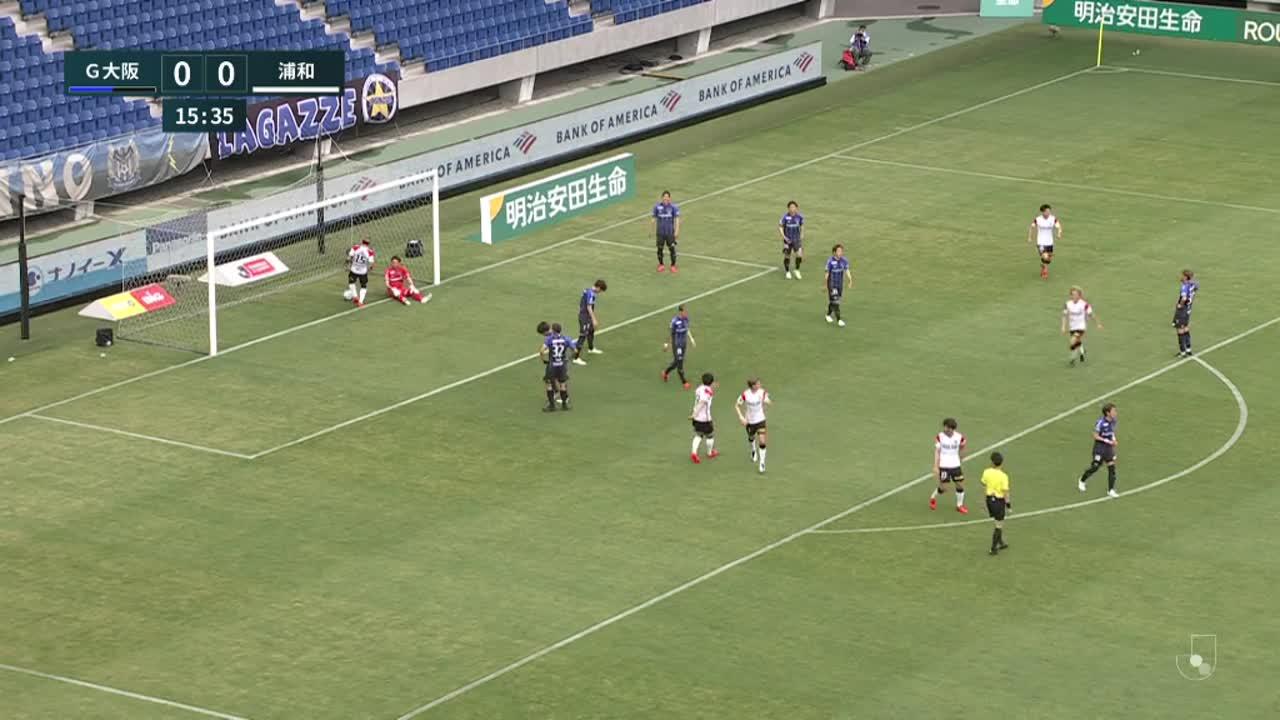 明治安田生命J1リーグ【第14節】G大阪vs浦和 ダイジェスト