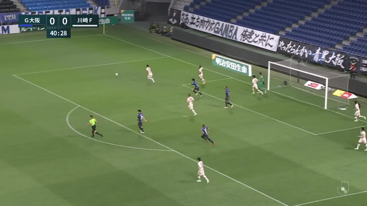 明治安田生命J1リーグ【第13節】G大阪vs川崎F ダイジェスト