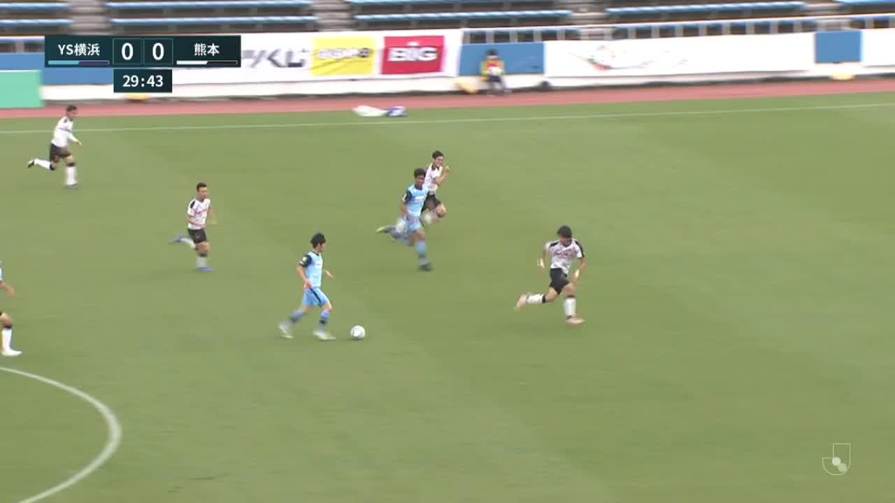 明治安田生命J3リーグ【第3節】YS横浜vs熊本 ダイジェスト