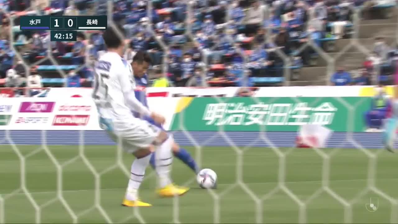 明治安田生命J2リーグ【第11節】水戸vs長崎 ダイジェスト
