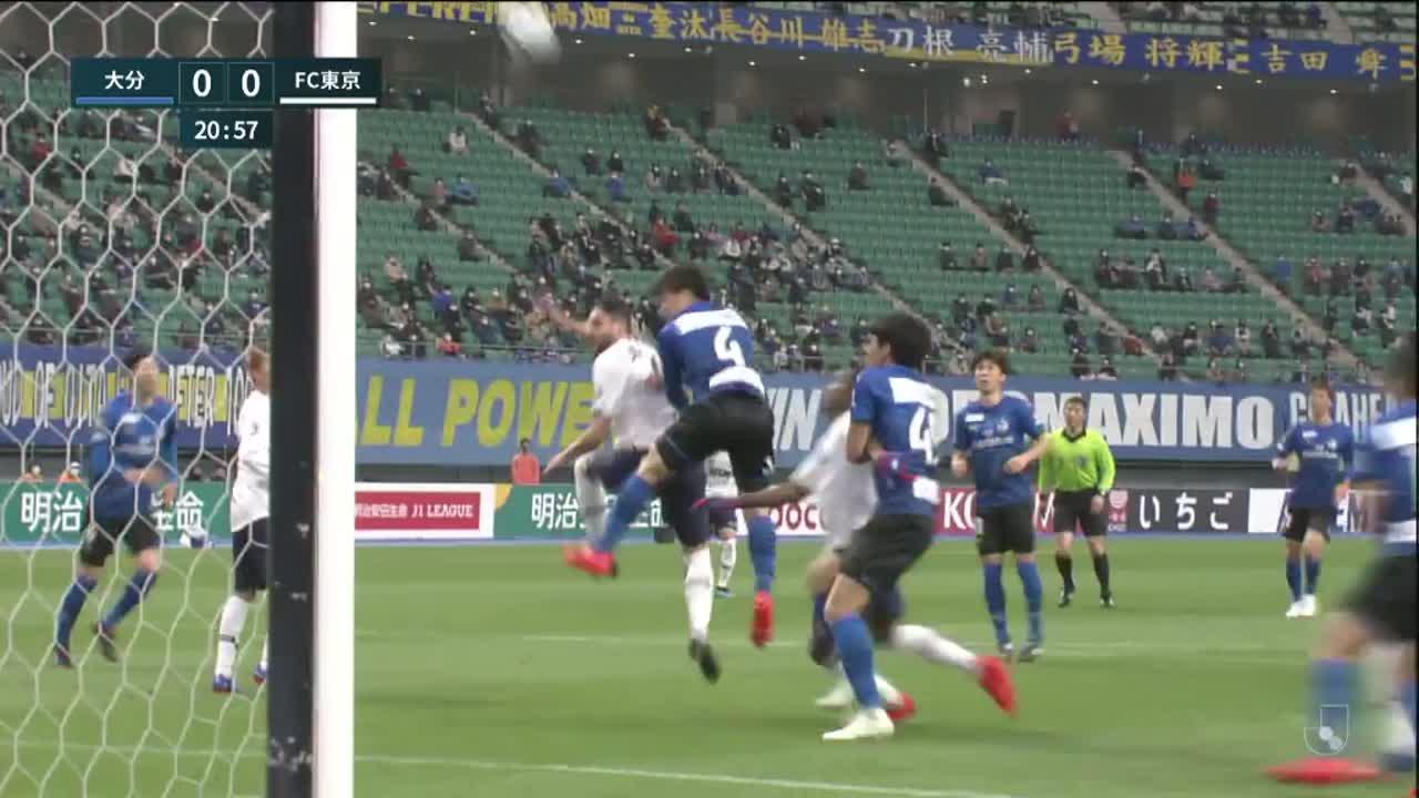 明治安田生命J1リーグ【第4節】大分vs FC東京 ダイジェスト