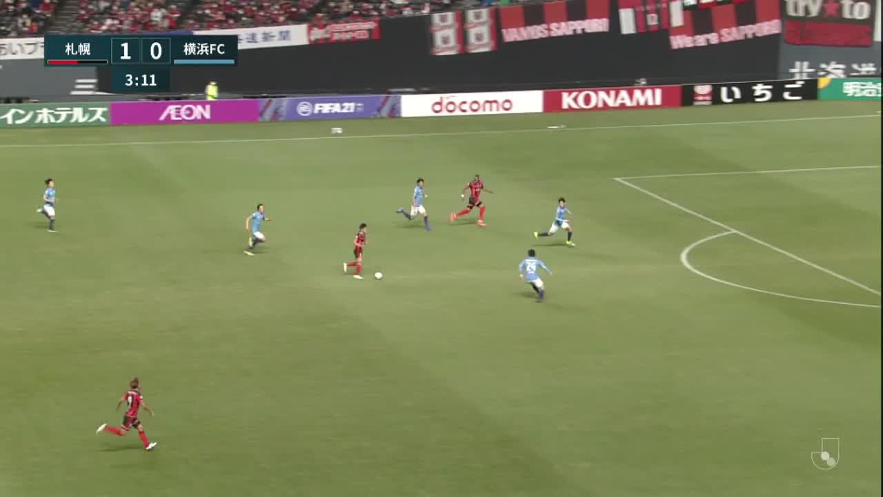 明治安田生命J1リーグ【第1節】北海道コンサドーレ札幌vs横浜FC ダイジェスト