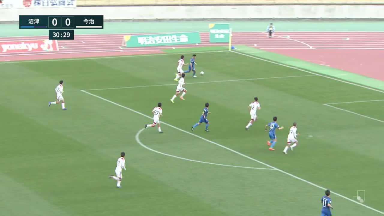 明治安田生命J3リーグ【第2節】沼津vs今治 ダイジェスト