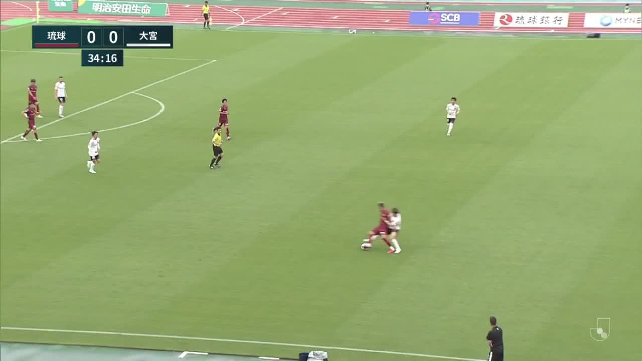 明治安田生命J2リーグ【第6節】琉球vs 大宮 ダイジェスト