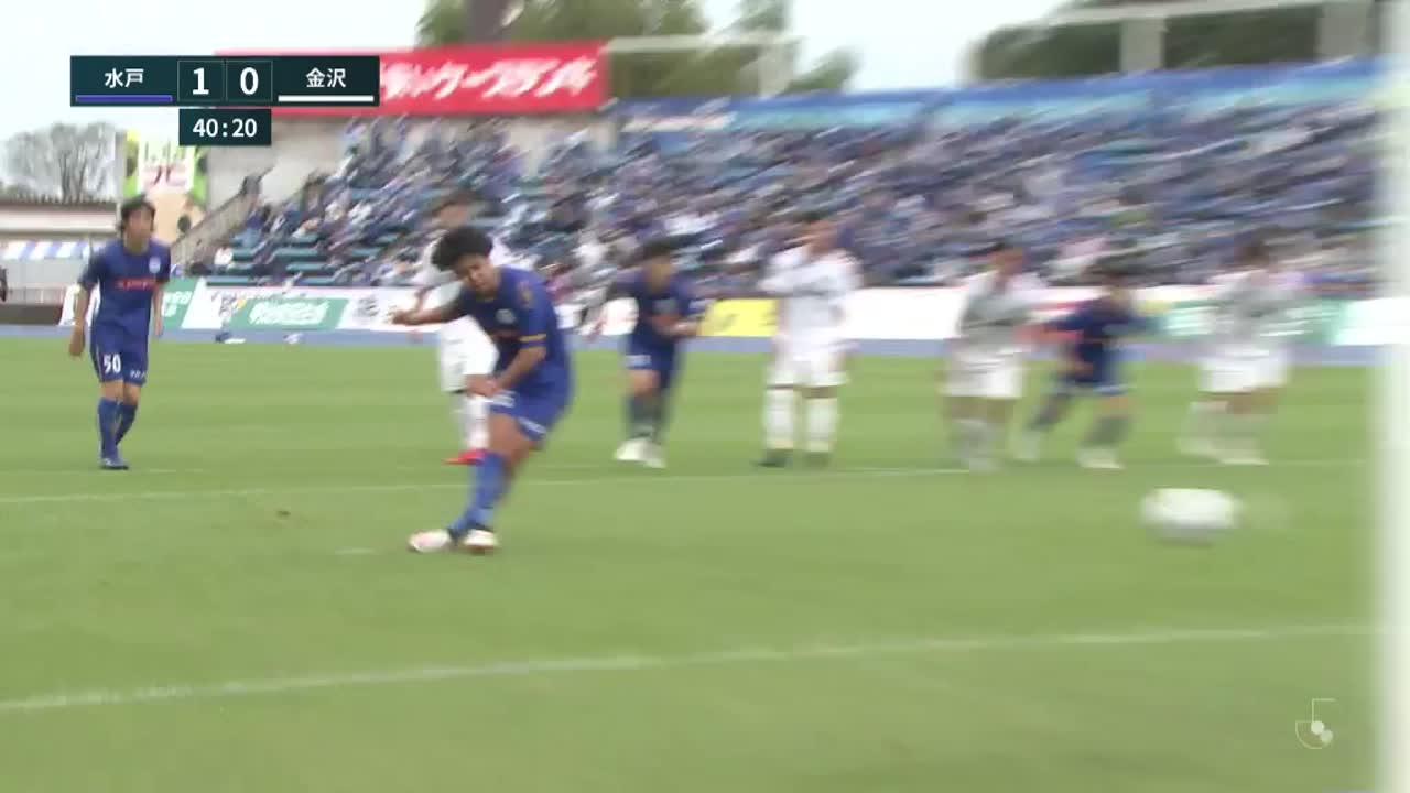 明治安田生命J2リーグ【第31節】水戸vs金沢 ダイジェスト