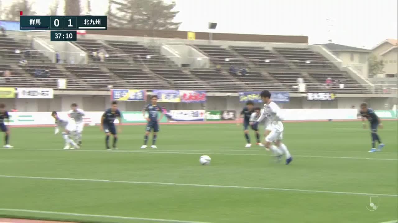 明治安田生命J2リーグ【第5節】群馬vs北九州 ダイジェスト